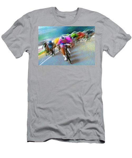 Le Tour De France 09 Men's T-Shirt (Athletic Fit)