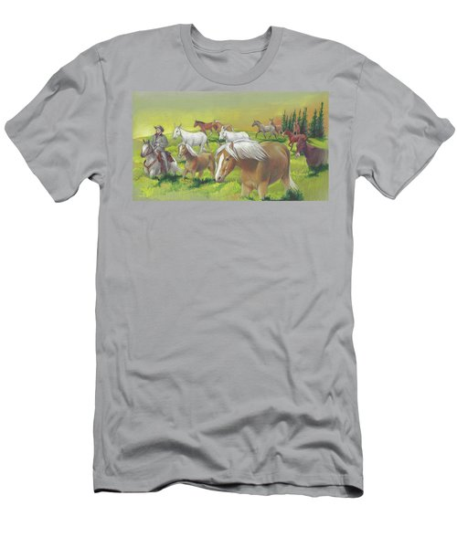 Leading The Bell Mare Men's T-Shirt (Athletic Fit)