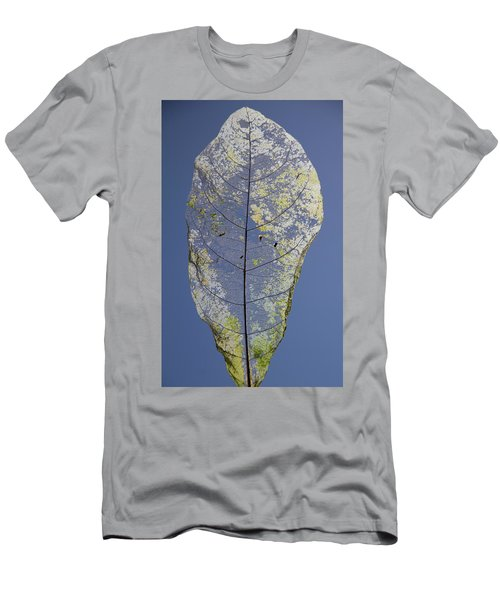 Men's T-Shirt (Athletic Fit) featuring the photograph Leaf by Debbie Cundy