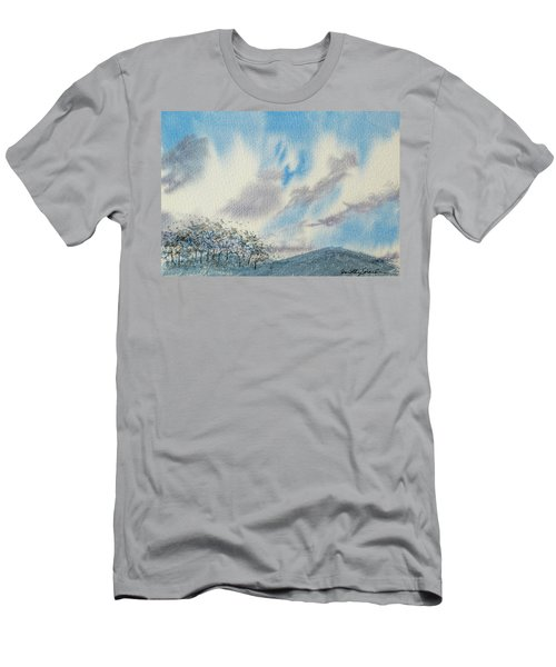 The Blue Hills Of Summer Men's T-Shirt (Athletic Fit)