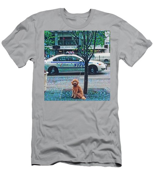 Leaving Nyc Men's T-Shirt (Athletic Fit)