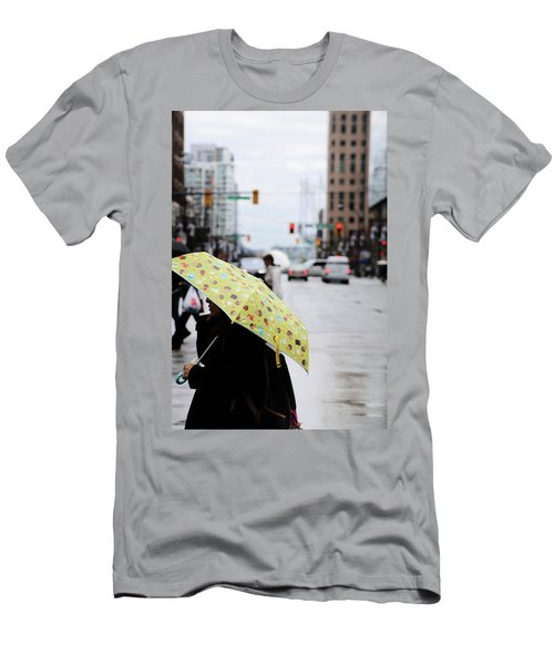 Men's T-Shirt (Slim Fit) featuring the photograph Lemons And Rubber Boots  by Empty Wall