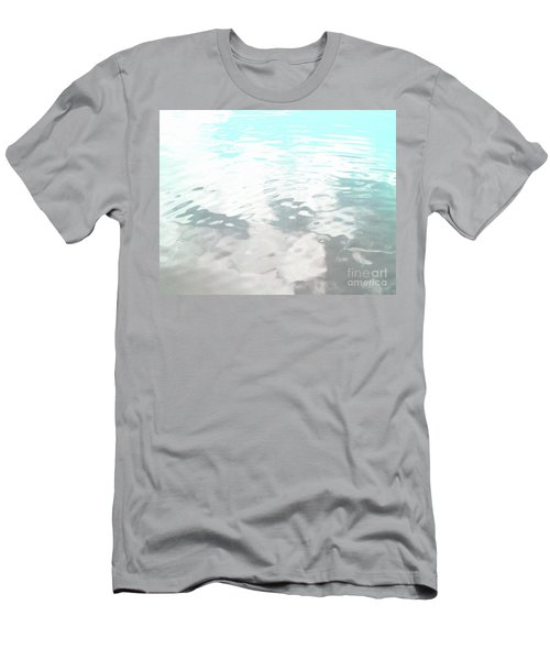 Men's T-Shirt (Slim Fit) featuring the photograph Let It Flow by Rebecca Harman
