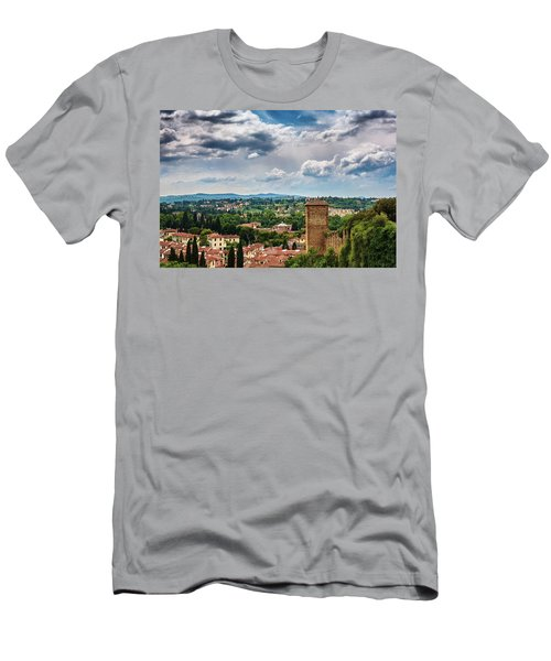 Let Me Travel To Another Era Men's T-Shirt (Athletic Fit)