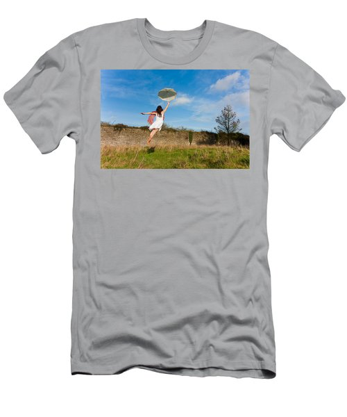 Let The Breeze Guide You Men's T-Shirt (Slim Fit) by Semmick Photo