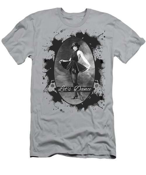 Lets Dance Men's T-Shirt (Athletic Fit)