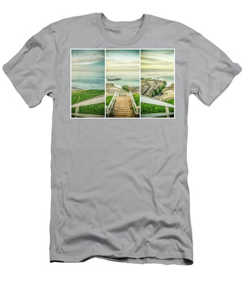 Let's Go Down To Windansea Men's T-Shirt (Slim Fit)