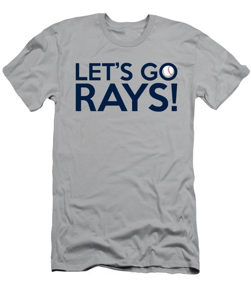 Let's Go Rays Men's T-Shirt (Athletic Fit)