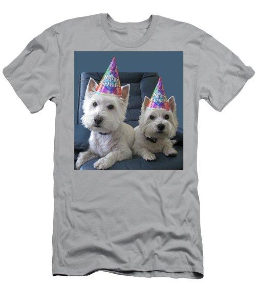 Let's Party Men's T-Shirt (Slim Fit) by Geraldine Alexander