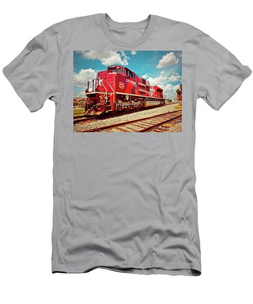Let's Ride The Katy Men's T-Shirt (Slim Fit) by Linda Unger