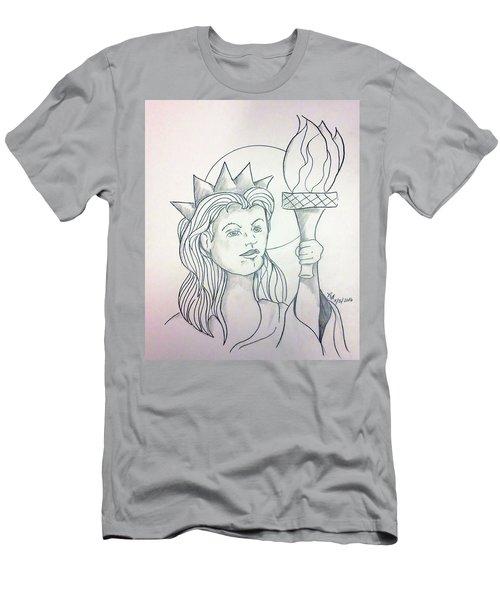 Liberty Men's T-Shirt (Athletic Fit)