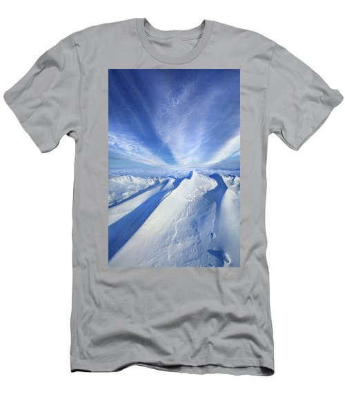 Men's T-Shirt (Slim Fit) featuring the photograph Life Below Zero by Phil Koch