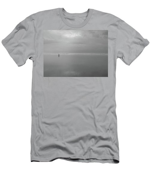 Men's T-Shirt (Slim Fit) featuring the photograph Life Is A Beach by Suzy Piatt