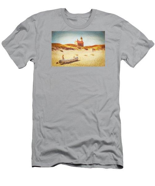 Lifes Journey Men's T-Shirt (Slim Fit) by Karol Livote