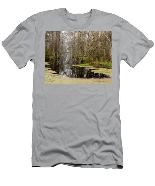 Light Fog On The Swamp Men's T-Shirt (Athletic Fit)