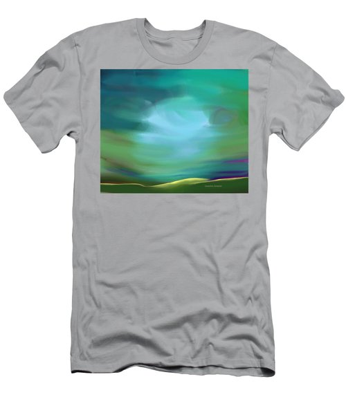 Light In The Storm Men's T-Shirt (Slim Fit)