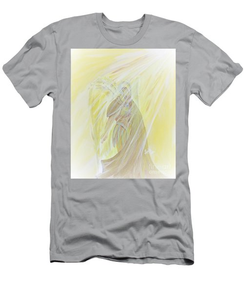 Light Of God Surround Us Men's T-Shirt (Athletic Fit)