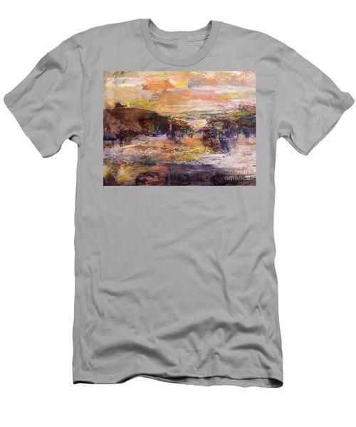Light Show At Dawn Men's T-Shirt (Slim Fit) by Nancy Kane Chapman
