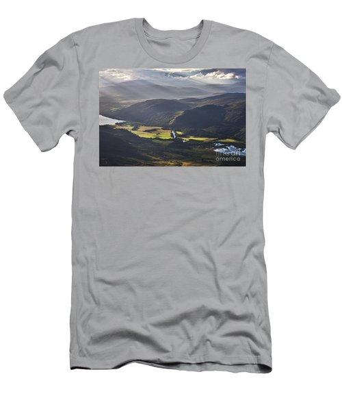 Light Streams, Kinloch Rannoch Men's T-Shirt (Athletic Fit)
