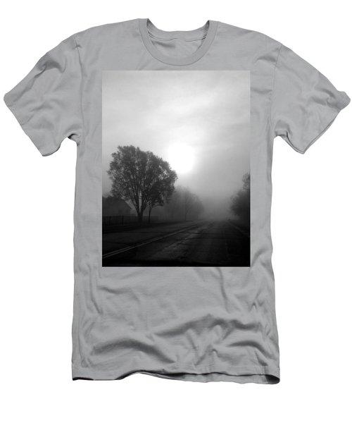 Light Through A Fog Men's T-Shirt (Athletic Fit)