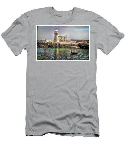 Lighthouse At Howth, Ireland Men's T-Shirt (Athletic Fit)