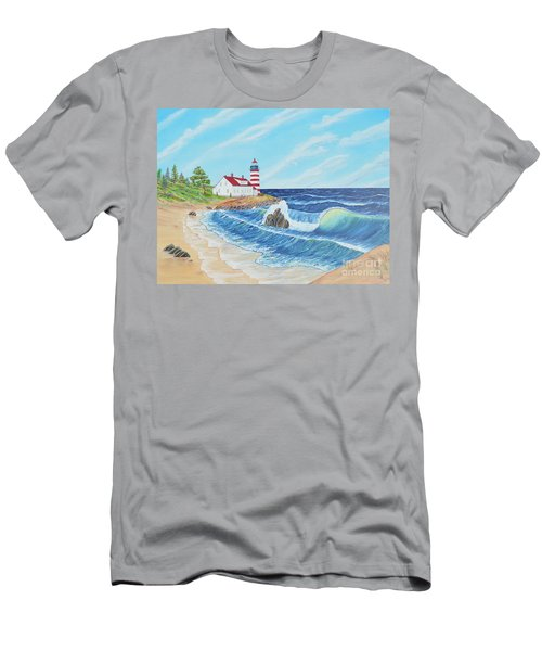 Lighthouse Life Men's T-Shirt (Athletic Fit)