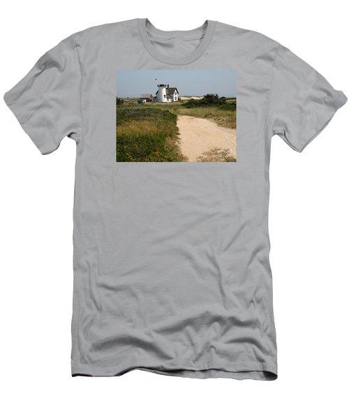 Lighthouse Living Men's T-Shirt (Athletic Fit)