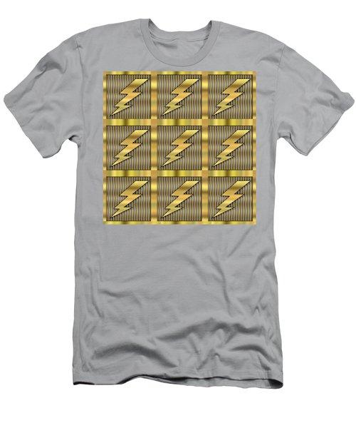 Lightning Bolt Group - Transparent Men's T-Shirt (Athletic Fit)
