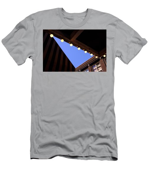 Lights Roofs And Triangles In Frederick Maryland Men's T-Shirt (Athletic Fit)