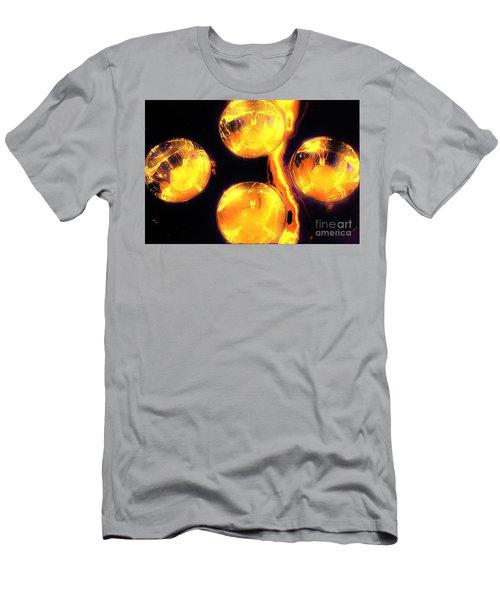Lights Under Glass3 Men's T-Shirt (Athletic Fit)
