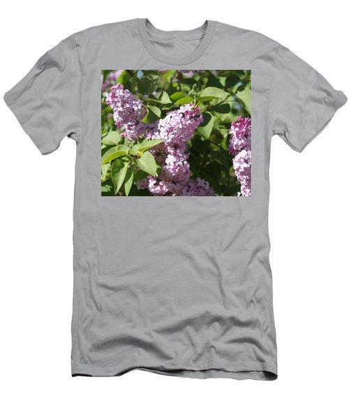 Men's T-Shirt (Slim Fit) featuring the photograph Lilacs 5544 by Antonio Romero