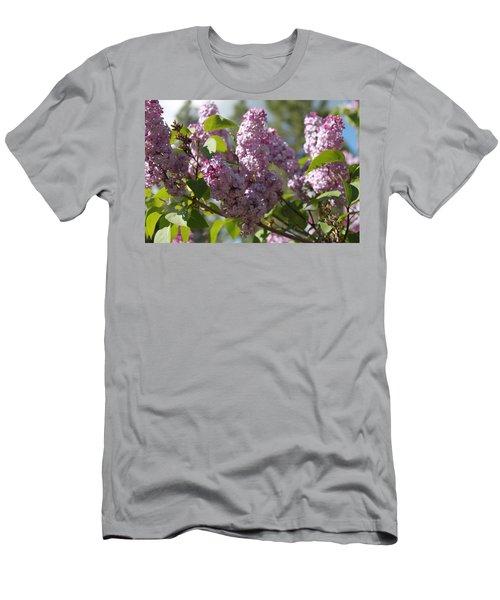 Men's T-Shirt (Slim Fit) featuring the photograph Lilacs 5548 by Antonio Romero