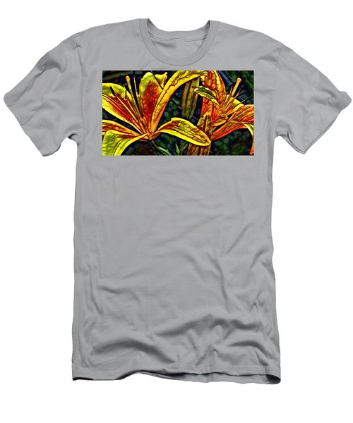 Lilly Fire Men's T-Shirt (Athletic Fit)