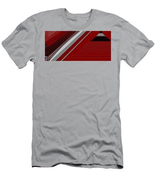 Lines 50 Men's T-Shirt (Slim Fit) by Linda Velasquez