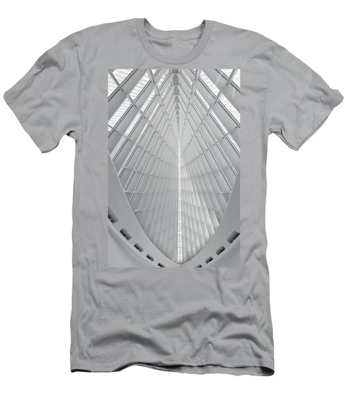 Lines And Light Men's T-Shirt (Athletic Fit)