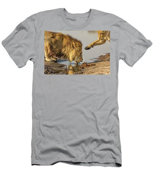 Lion Affection Men's T-Shirt (Athletic Fit)