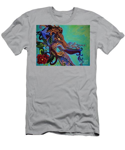 Lion Gargoyle Men's T-Shirt (Athletic Fit)