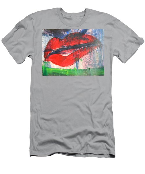 Lipstick - Sold Men's T-Shirt (Athletic Fit)