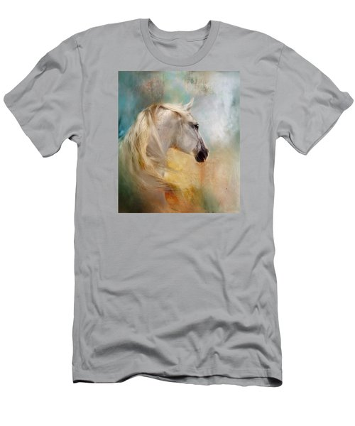 Men's T-Shirt (Slim Fit) featuring the digital art Listen To The Wind- Harley by Dorota Kudyba