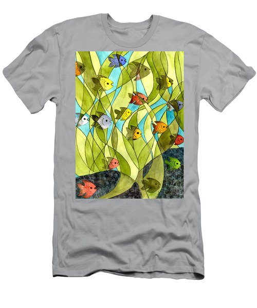 Little Fish Big Pond Men's T-Shirt (Athletic Fit)