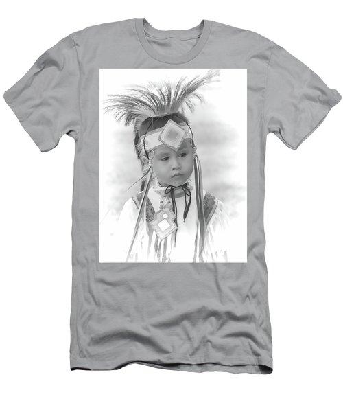 Little Native American Dancer Men's T-Shirt (Athletic Fit)