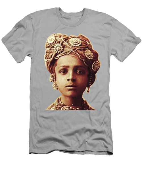 Little Prince Men's T-Shirt (Slim Fit) by Asok Mukhopadhyay