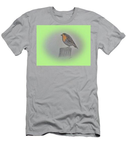 Little Robin Men's T-Shirt (Athletic Fit)