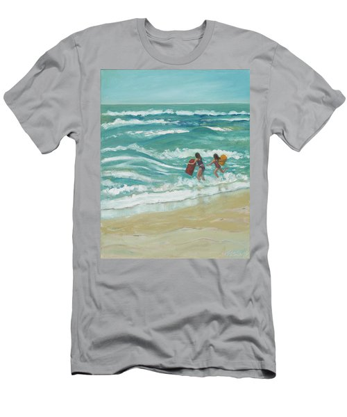 Little Surfers Men's T-Shirt (Athletic Fit)
