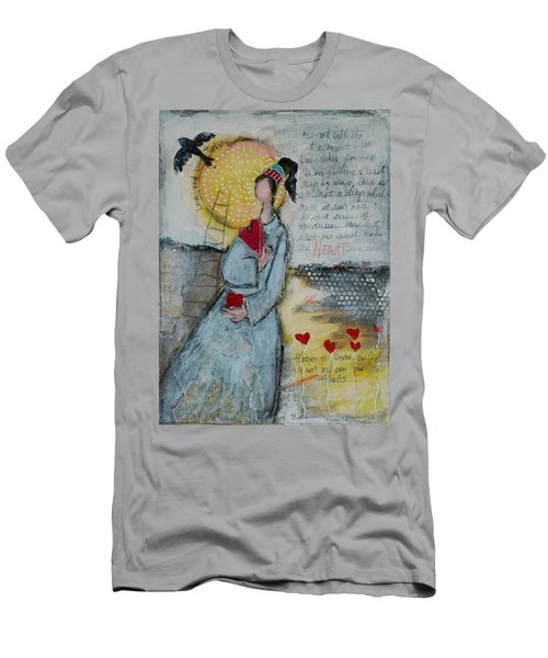 Live Joyfully  Men's T-Shirt (Slim Fit) by Sharon Furner