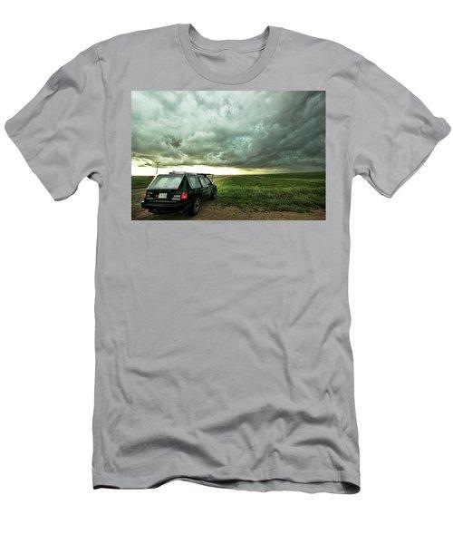 Living Saskatchewan Sky Men's T-Shirt (Slim Fit) by Ryan Crouse