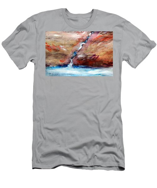 Living Water Men's T-Shirt (Slim Fit) by Winsome Gunning