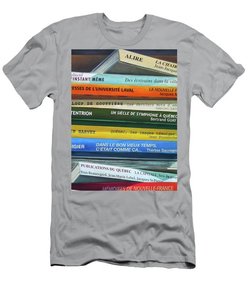 Livres ... Men's T-Shirt (Athletic Fit)