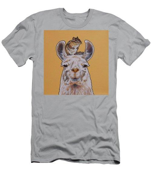 Llois The Llama Men's T-Shirt (Athletic Fit)