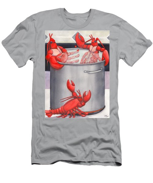 Lobster Spa Men's T-Shirt (Athletic Fit)